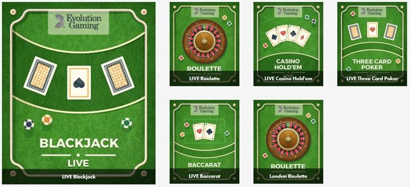 Dunder Casino Live